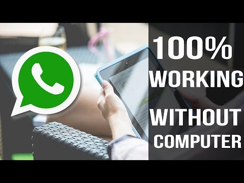 install whatsapp on iPad and iPod without using a computer|july 2016