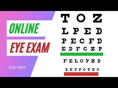 Online Eye Exam