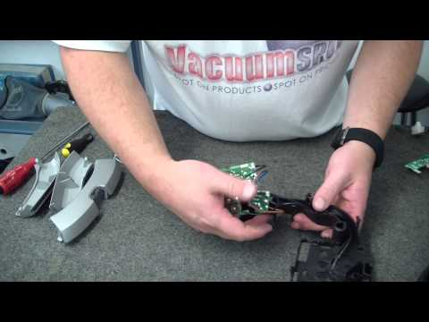 How to change the PCB on a Miele S5211 Vacuum Cleaner