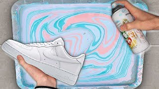 HYDRO Dipping AIR Force 1's! (Giveaway Winner)