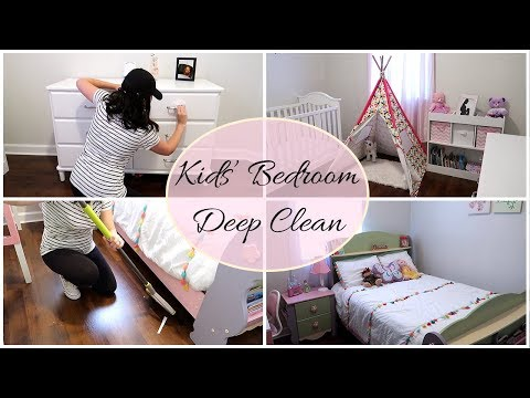 DEEP CLEANING KIDS' BEDROOM COLLAB WITH LINDSEYS LIFENSTYLE