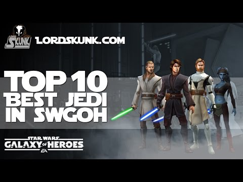 TOP 10 BEST SWGOH Jedi Characters | Star Wars: Galaxy of Heroes