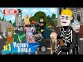 1000000 FORTNITE TOURNAMENT PART 1 ANIMATION W BATMAN RICK And MORTY AND MORE