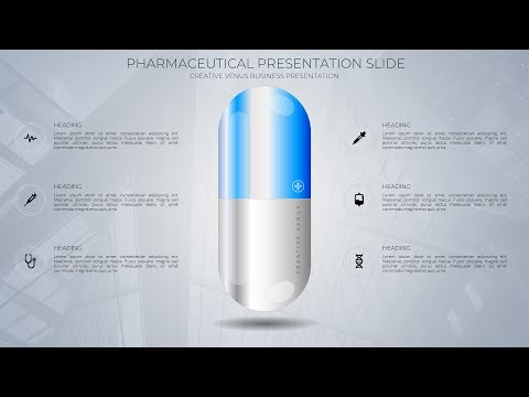 Pharmaceutical, Medical, Medicine, Business Presentation Slide in Microsoft Office365 PowerPoint PPT