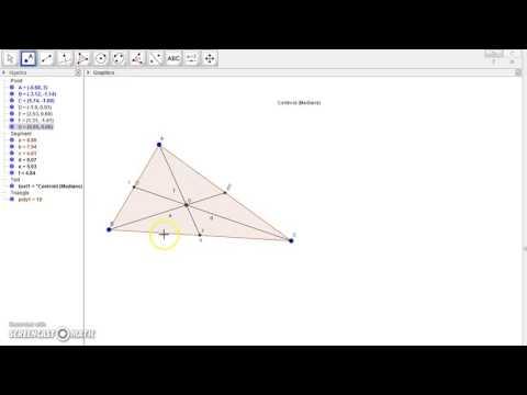 Geogebra Centroid