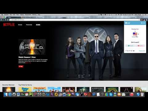 How to Get American Netflix in Canada/UK! (New 2014-2015) (Easy/Quick)