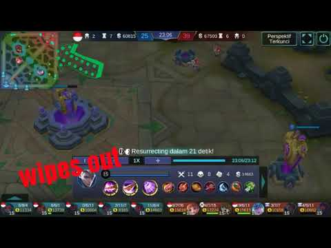 The winner is minions - WTF moment Mobile Legends