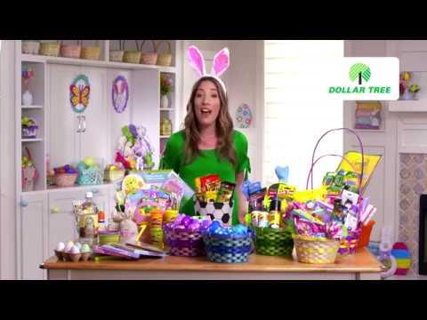 Easter Basket Ideas, Egg Hunt Fun & DIY Easter Décor with Dollar Tree