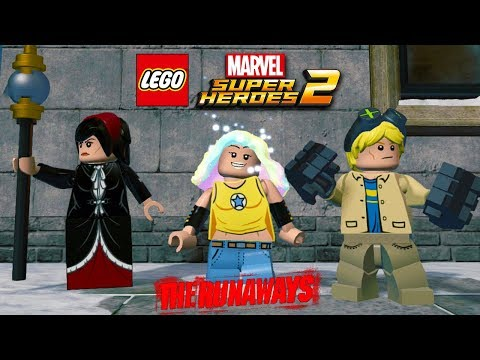 LEGO Marvel Super Heroes 2 - All The Runways Character and Level Pack Characters Unlocked