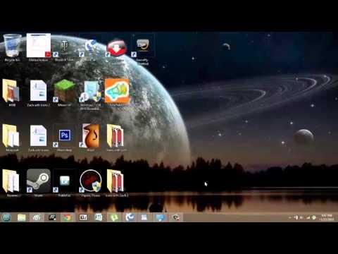 How Can I Unzoom My Vista Desktop Icons? : Windows Vista & Taskbars