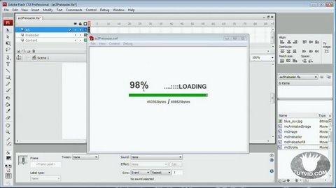ActionScript 3 Preloader! Flash Tutorial!