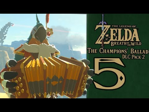 Legend Of Zelda Breath of the Wild - DLC Champions Ballad Part 5 Molduking Sand Brute! (Season Pass)