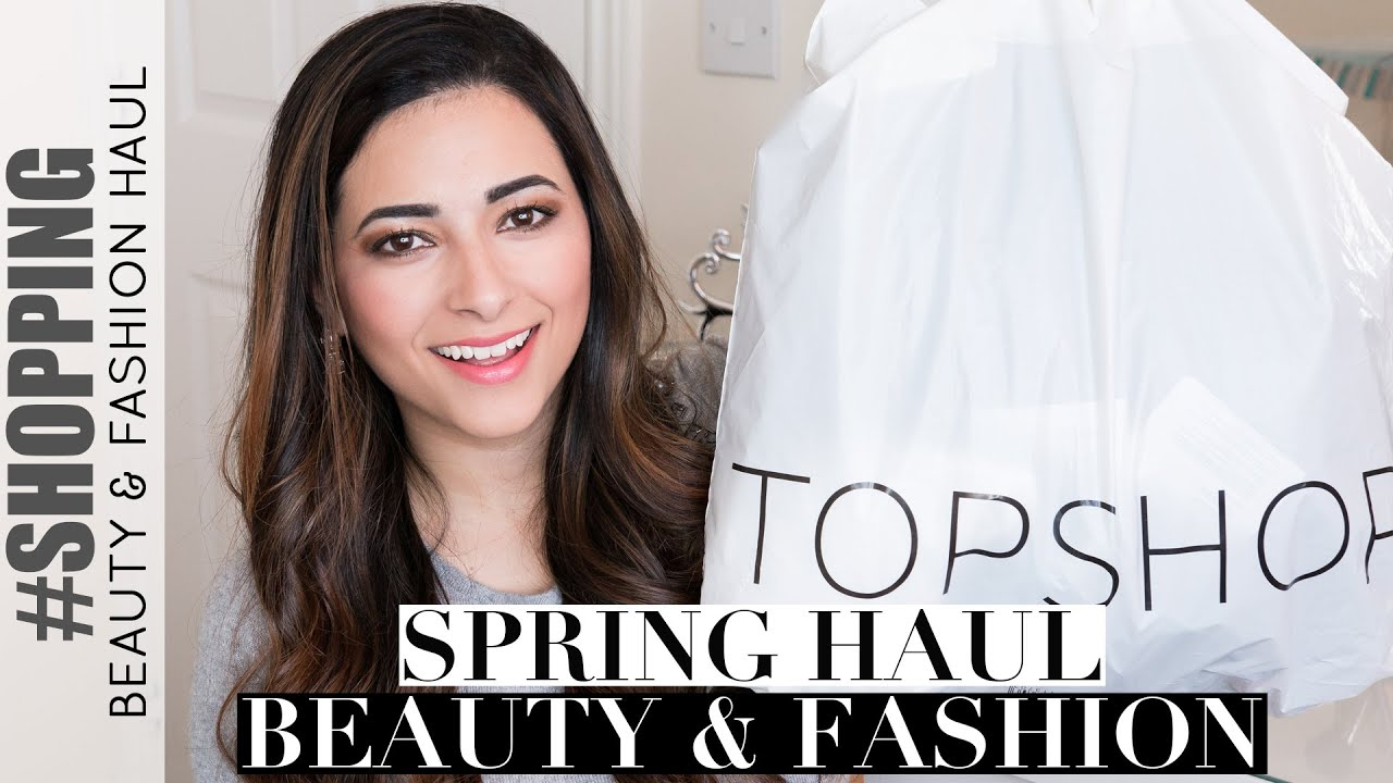 SPRING BEAUTY AND FASHION HAUL: Topshop, L'Oreal, New Look & Rimmel | Ysis Lorenna