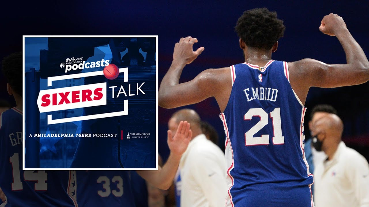 Embiid and the Sixers pull out clutch win over the Heat | Sixers Talk Podcast