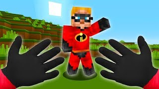 REALISTIC MINECRAFT - STEVE MEETS THE INCREDIBLES 💥 (The Incredibles 2)