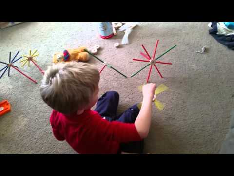 Jack's New Tinker Toy Fans