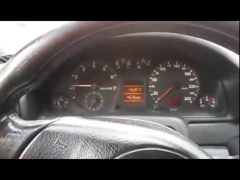Audi A4 B5 Starting problem after MAF sensor replacement