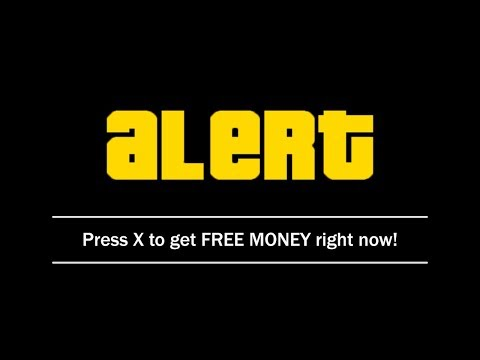 How To Get FREE MONEY In GTA 5 Online IN SECONDS!!!