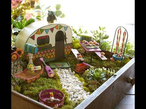 30 DIY Fairy Garden Ideas | DIY Miniature Fairy House & Garden | DIY Small Garden Decorating