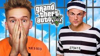 Gta V Więzienie #18 Aresztowani! 🚷