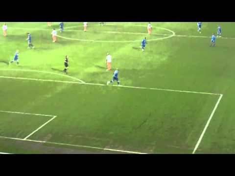 Marlon King goal for Birmingham City v Blackpool 31.12.2011