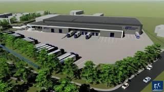 Download Nieuwbouw Van Heugten Transport in Scherpenzeel Video