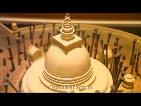 The World Buddhist Museum at Tooth Relic Palace in Kandy Sri Lanka