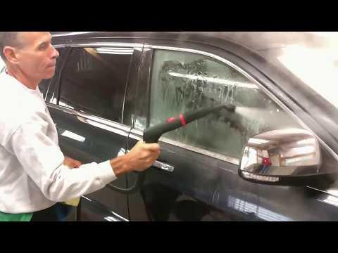 Vapor Chief 125 steam cleaner washing car