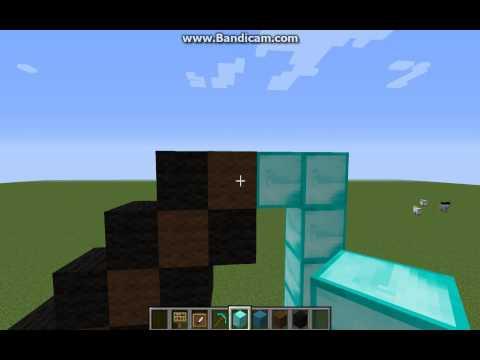 Minecraft-How To Make A Diamond Pickaxe Pixel Art