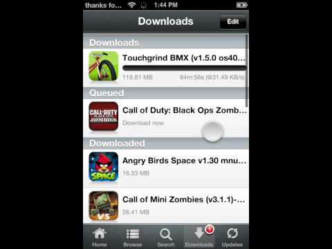 How to download free apps on a jailbreakon iPod touch 4G