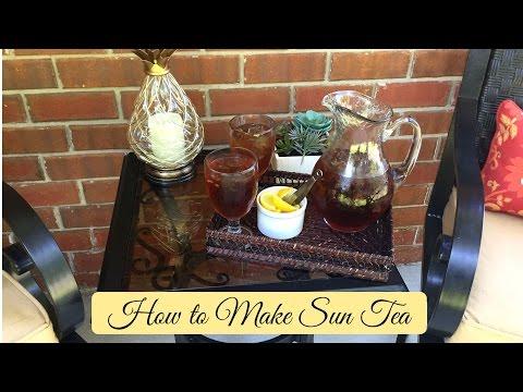 How to Make Sun Tea!