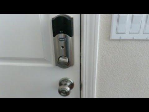 How to change the batteries on the Schlage Smart Deadbolt Door Lock
