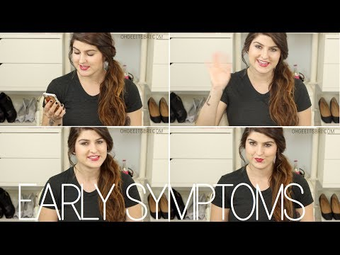 my early pregnancy symptoms. ✶ how we found out!
