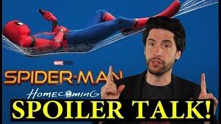 Spider man Homecoming Spoiler Talk