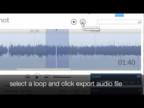 save a slowed down loop of music with riffmasterpro windows.mov