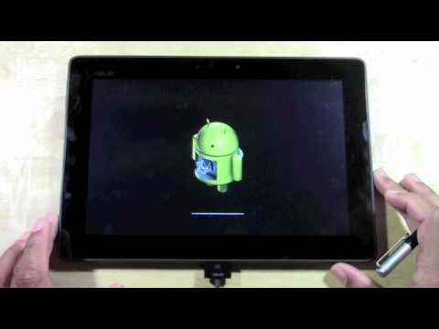 Asus Transformer Pad TF300 - How to Reset Back to Factory Settings | H2TechVideos