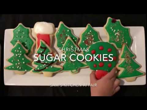 Best Tasting Sugar Cookies and Frosting by Chef Sam
