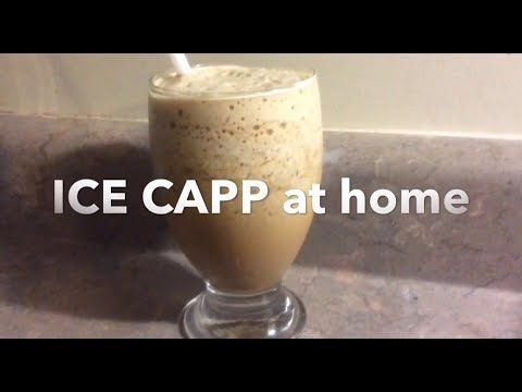 How To Make Iced Cappuccino