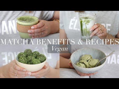 Matcha Benefits & Recipes (Vegan/Plant-based)   JessBeautician AD