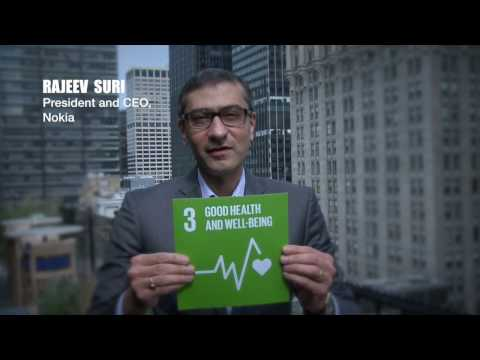 SDG3 GOOD HEALTH AND WELL BEING – Raveej Suri, Nokia