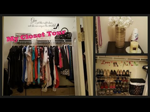MY CLOSET MAKEOVER TOUR | ORGANIZING ON A BUDGET | ROSS, TJ MAX, DOLLAR TREE AND MANY MORE....