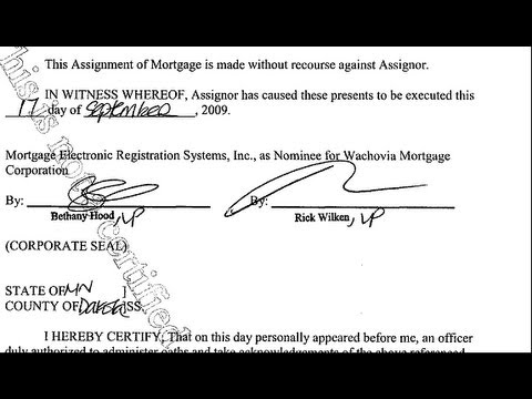 Your Mortgage Documents Might be Fake!