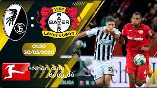 Nhận định, soi kèo Freiburg vs Bayer Leverkusen 01h30 ngày 30/05 - vòng 29 - Bundesliga 2019/2020