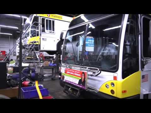 Careers at Metro Transit - Bus Maintenance - Recruitment Video