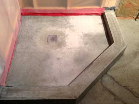Basement Bathroom with Neo Angle Shower Pan