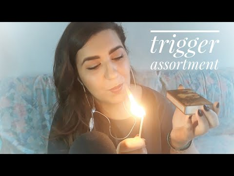 ASMR Trigger Assortment - Strong Italian Accent, Matches, Tapping & More