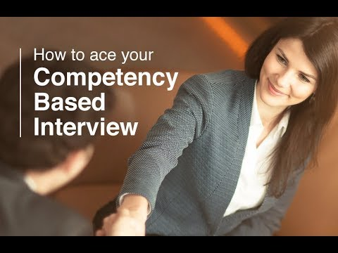 How to answer competency based questions
