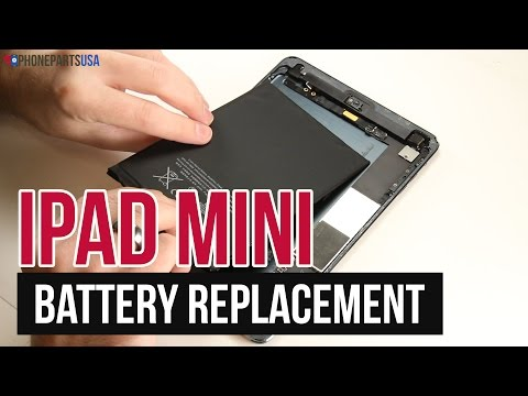 iPad Mini Battery Replacement Video Guide
