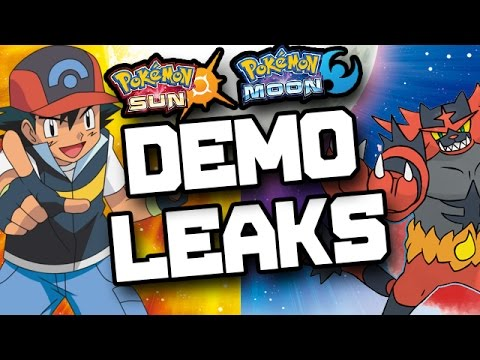 Pokemon Sun and Moon Demo Leaked?!