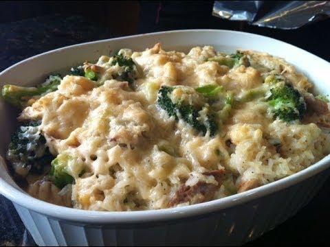 Easy Chicken Casserole Recipe - Cheesy and Delicious